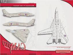 CAMP32007 1:32 CAM Pro Decals - F-14A Tomcat Hi-Visibility D