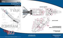 CAMP32021 1:32 CAM Pro Decals - USN/USMC F-4 Phantom II Hi V