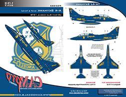 CAM Pro Decals CAMP32022 1:32 A-4F TA-4J Skyhawk Blue Angels