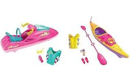 Barbie Camping Fun Kayak Set