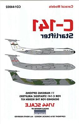 CARCD144002 1:144 Caracal Models Decals - C-141 Starlifter