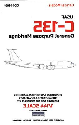 CARCD144004 1:144 Caracal Models Decals - C-135 Family Gener
