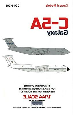 CARCD144008 1:144 Caracal Models Decals - C-5A Galaxy