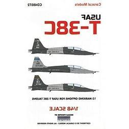 Caracal Models CARCD48072 1:48 Decals - USAF T-38C Talon [WA