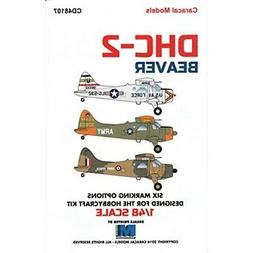 Caracal Models CARCD48107 1:48 Decals - DHC-2 Beaver
