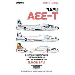 Caracal Models CARCD48119 1:48 Decals - T-33A Shooting Star