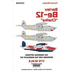 CARCD72038 1:72 Caracal Models Decals - Beriev Be-12 Chaika