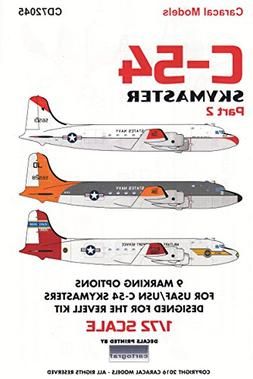CARCD72045 1:72 Caracal Models Decals - C-54 Skymaster Part