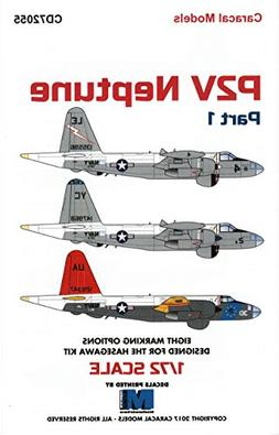 CARCD72055 1:72 Caracal Models Decals - P2V Neptune Part 1
