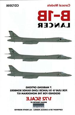 CARCD72056 1:72 Caracal Models Decals - B-1B Lancer