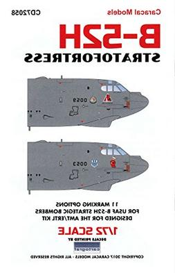 CARCD72058 1:72 Caracal Models Decals - B-52H Stratofortress