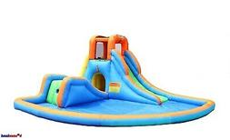 Bounceland Cascade Water Slides With Large Pool