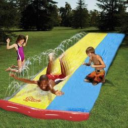 Children Summer Double Water Slide Surf Lawn Water Slides Ki