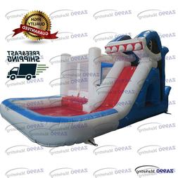 Commercial Bounce House Inflatable Jumpers Water Slides Pool