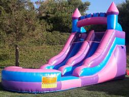 Commercial Grade Inflatable Water Slide Princess 12 Feet Tal