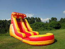 Commercial Grade Inflatable Water Slide Volcano 15 Feet Tall