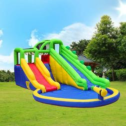 Crocodile River Water Park w/Two Slides, Climbing Wall, Pool