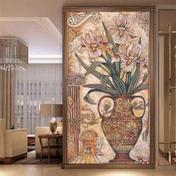 beibehang Custom classical oil painting vase wardrobe <font>