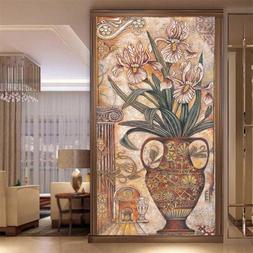 beibehang Custom classical oil painting vase wardrobe <font>