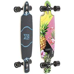 "DB Longboards Dagger 36"" Piña Colada Maple Longboard Comple"