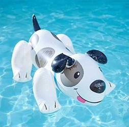 Lvmiao Dalmatians Floating Inflatable Floating Bed Floating