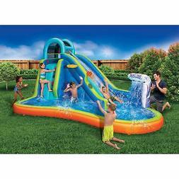 Banzai Deluxe 2 in 1 Surf 'N Splash Water Park and Slide 'N