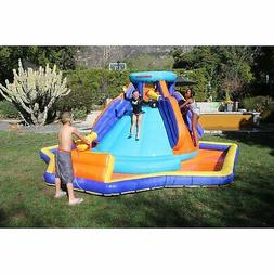 Sportspower Deluxe Battle Ridge Huge Water Slide Water Canno