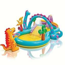 ✅Intex Dinoland Dinosaur Inflatable Swim Play Center Kiddi