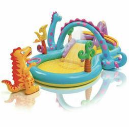 Intex Dinoland Dinosaur Inflatable Swim Play Center Kiddie B