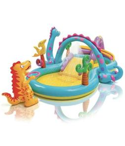 INTEX DINOLAND INFLATABLE PLAY CENTER KIDS INFLATABLE POOL W