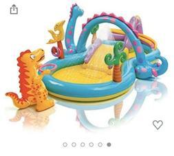 ✅Intex Dinosaur Dinoland Inflatable Swim Play Center Kiddi