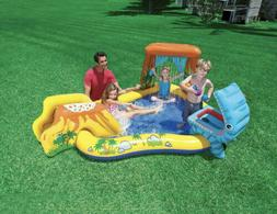 Intex Dinosaur Play Center Inflatable Kids Swimming Pool NEW
