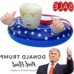 "NinoStar Pool Float Donald Trump 42"" Best Summer 2017 Fun In"