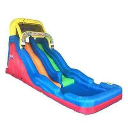 Banzai Double Drop Raceway 2 Lane Inflatable Kids Bounce Wat