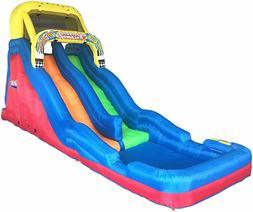 Banzai Double Drop Raceway Inflatable 2 Lane Racing Water Sl