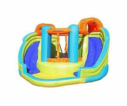 Sportspower Inflatable Double Water Slide Bounce House Kids
