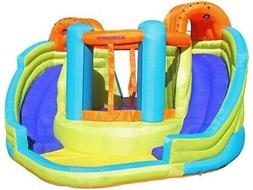KidWise Double Slide Inflatable Water Slide