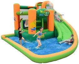 KidWise Endless Fun 11-in-1 Inflatable Bounce House And Wate