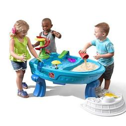 Step2 Fiesta Cruise Sand & Water Table with Umbrella | Kids