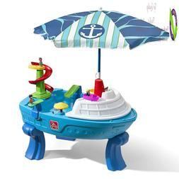 Step2 Fiesta Cruise Sand & Water Table With Umbrella Play