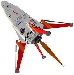 flying model rocket kit mars lander kv