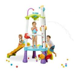 Little Tikes 645792M Fun Zone Tumblin' Tower Climber, Multic