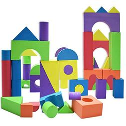 Giant Foam Building Blocks, Building Toy for Girls and Boys,