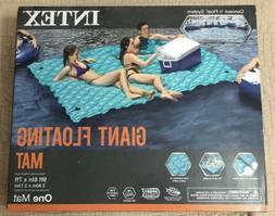 Intex Giant 9.5' Inflatable Floating Water Swimming Pool Lak