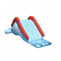 Giant Inflatable Slide, Gauge Vinyl Material, Blue Color, Ea