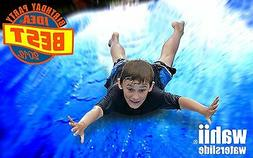 Giant Water Slide  - Wahii Water Slide 75ft