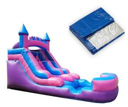 Graduation Party Pack - Pink Premium Inflatable Water Slide
