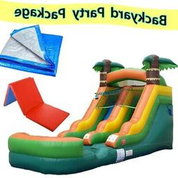 Graduation Party Pack - Tropical Premium Inflatable Water Sl