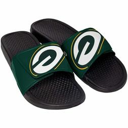 Green Bay Packers Mens Sandals NFL Slide Legacy Water Shoes