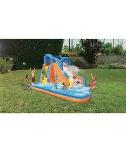 💦☀️Banzai Gushing Geyser Inflatable Water Park Slide